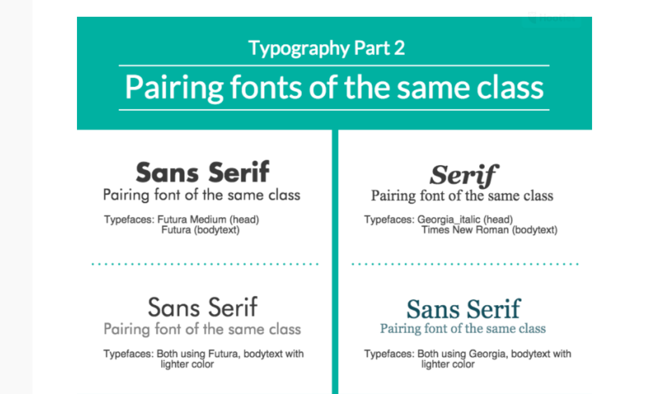 10 infographics on how to mix fonts like a pro creative