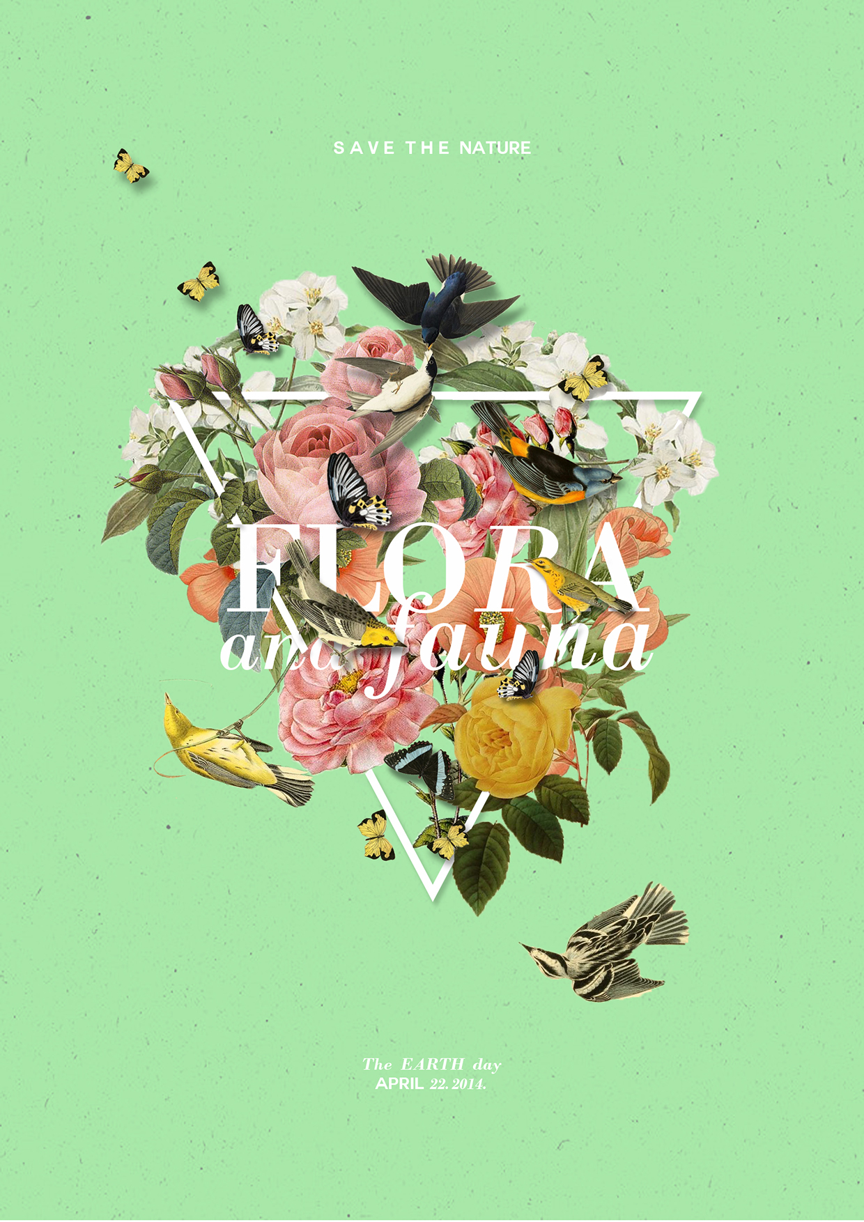 Poster design inspiration 2015 - Poster Design Inspiration 2015 Flora