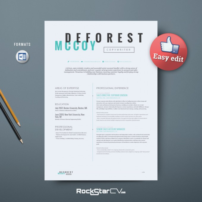 Perseus_resume Template Cv_08 O With How To Make A Creative Resume