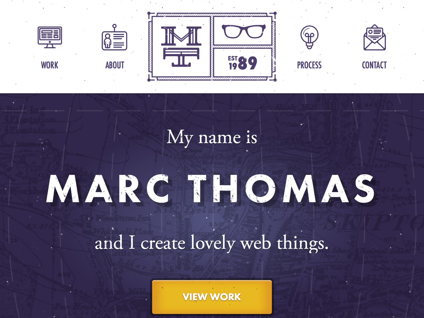 Marc Thomas - Freelance Digital Designer and Frontend Developer based in London, UK