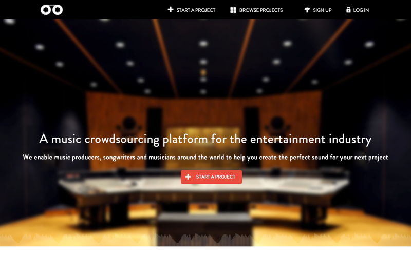 Music Crowdsourcing - create music with the world | Soound (20150727)