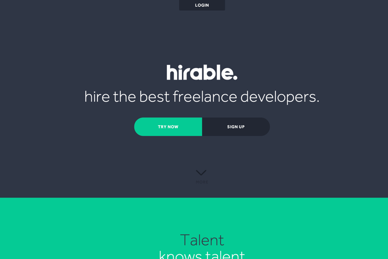 hirable - hire the best freelance developers (20150727)