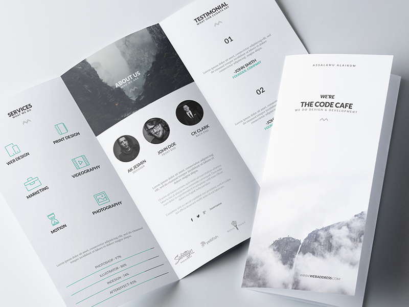 How To Design A Stunning Brochure Expert Tips And Templates - Basic brochure template