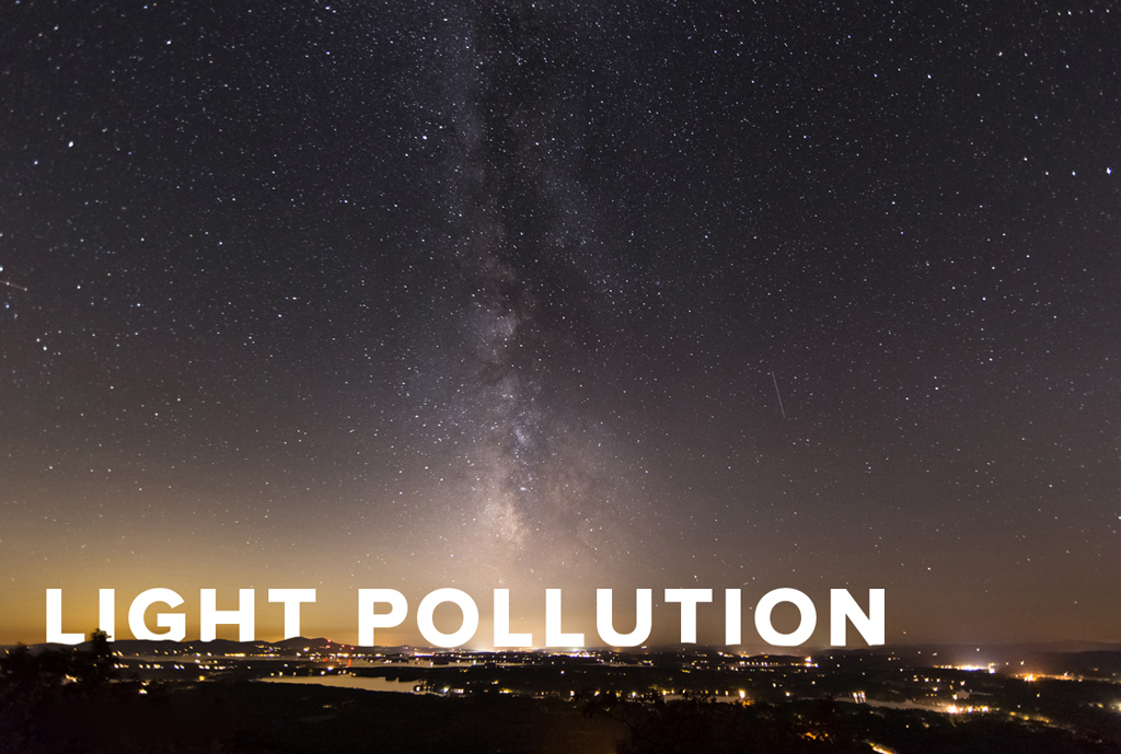Astrophotography Light Pollution