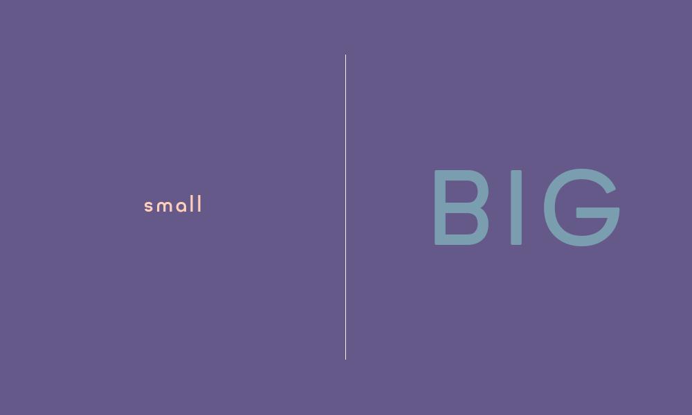 small-big
