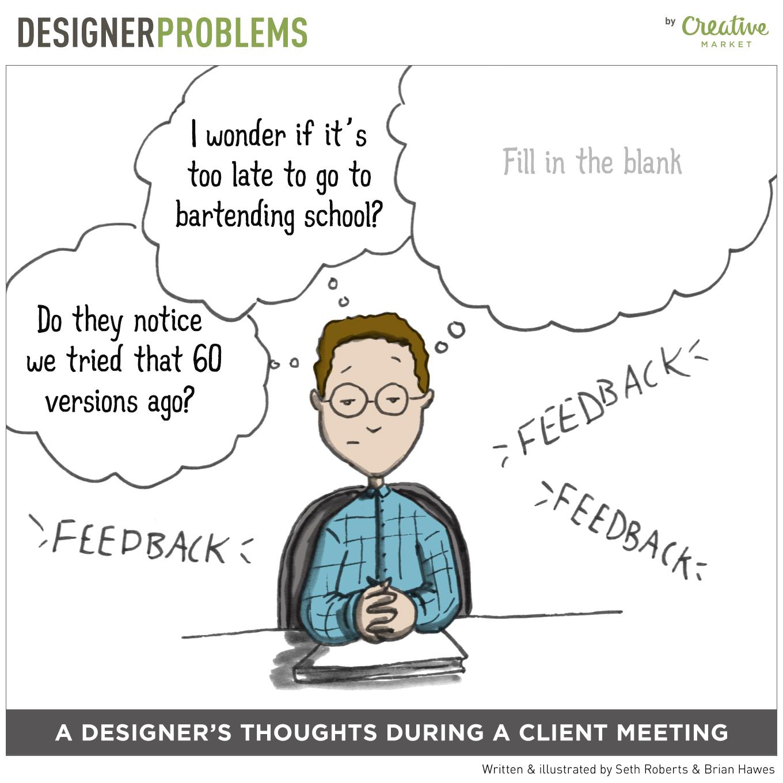 Designer Problems Comic