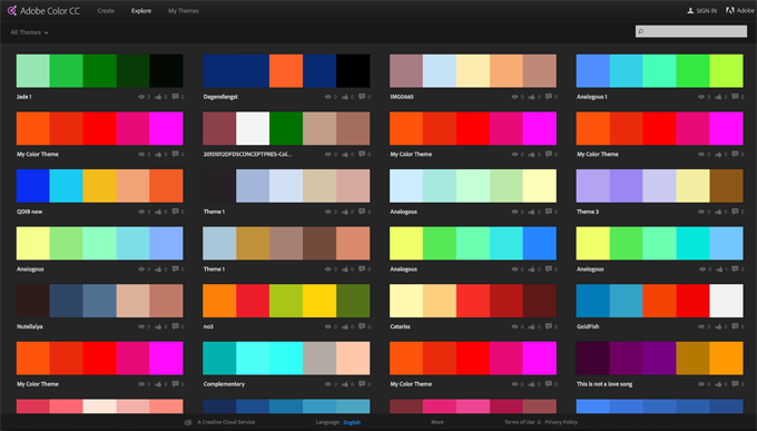 The missing cheatsheet for brilliant color combinations Color combinations numbers