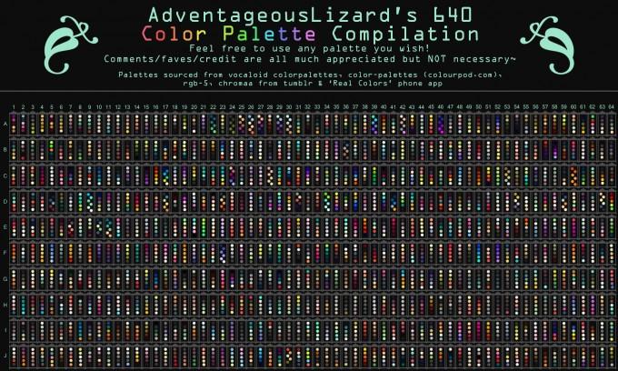 adventageouslizard_s_640_color_palette_compilation_by_adventageouslizards-d8qs381