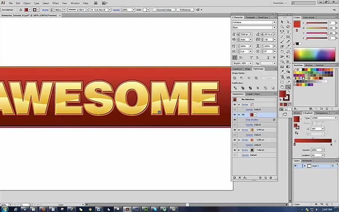 efectos photoshop tendencias diseño web