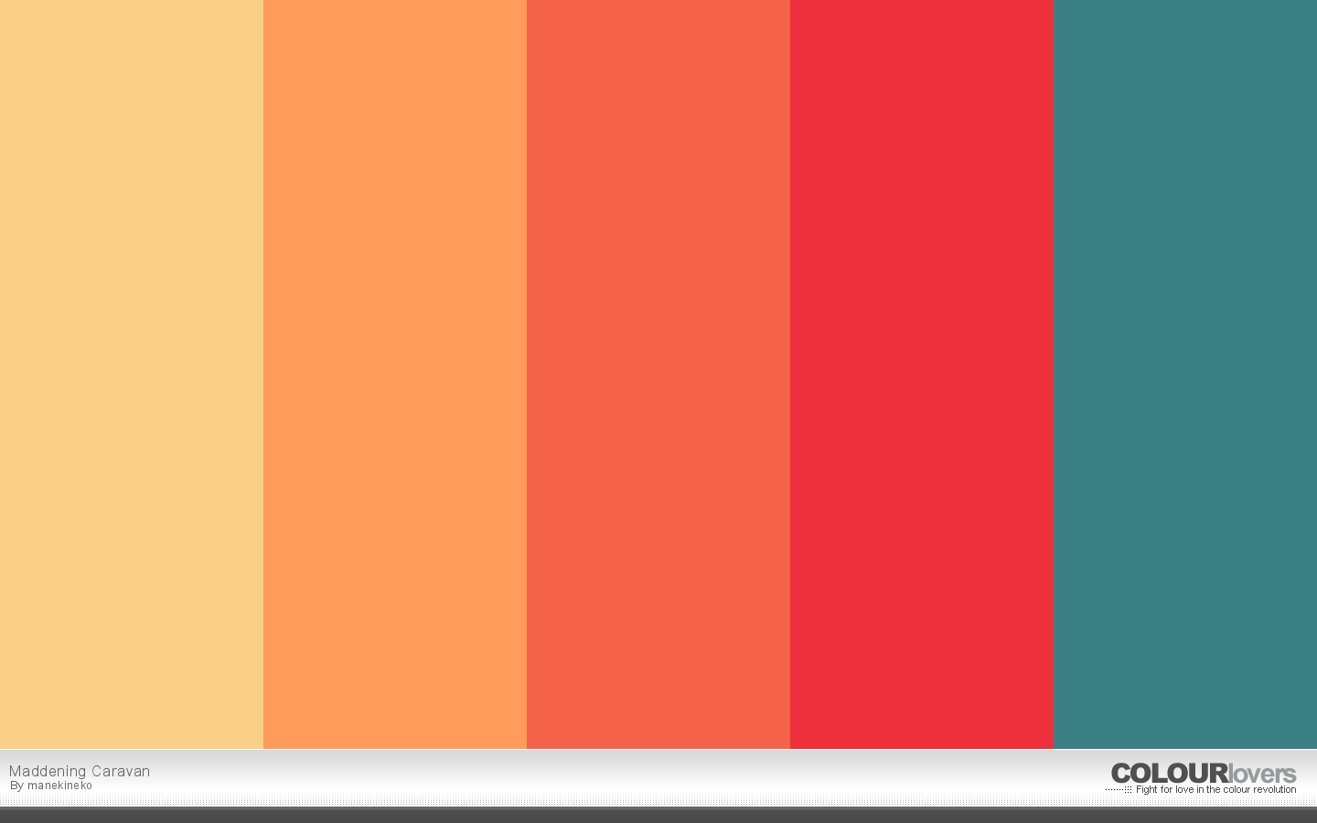 Warm Color Palette Classy 20 Bold Color Palettes To Try This Month November 2015  Creative Review