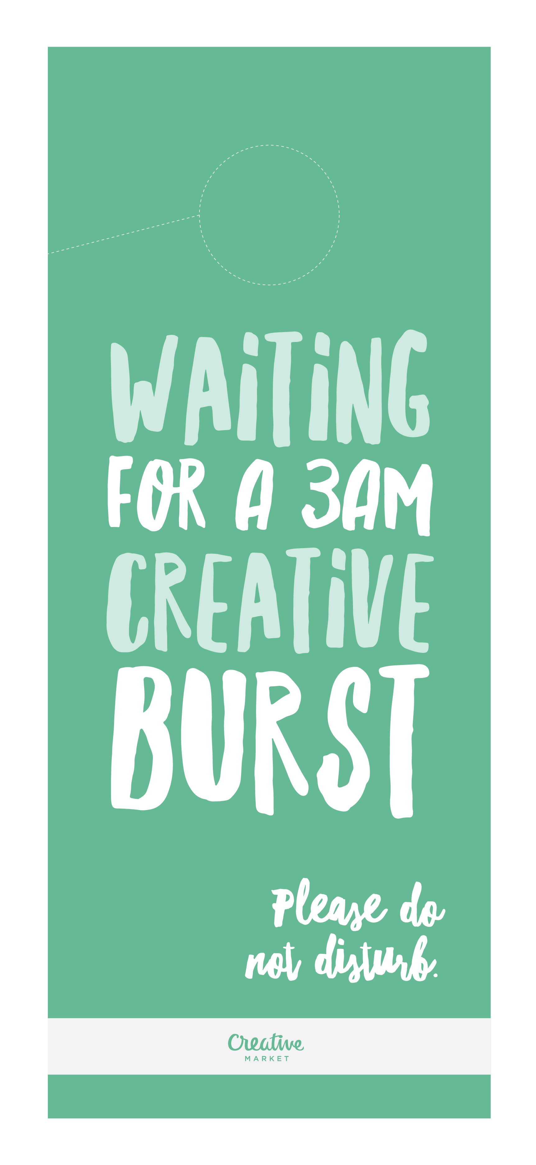 10 Brutally Honest Door Hangers Every Designer Needs (+ Free ...