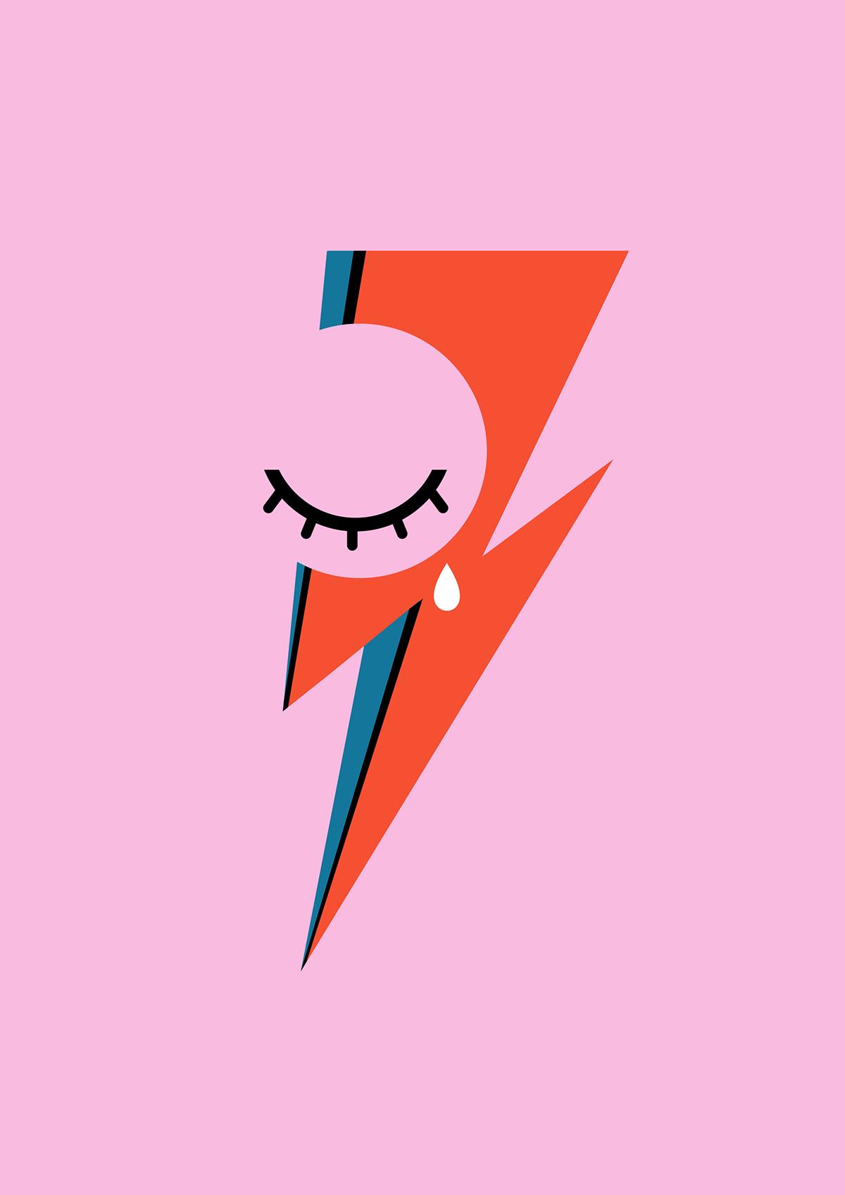 David Bowie Tribute Behance