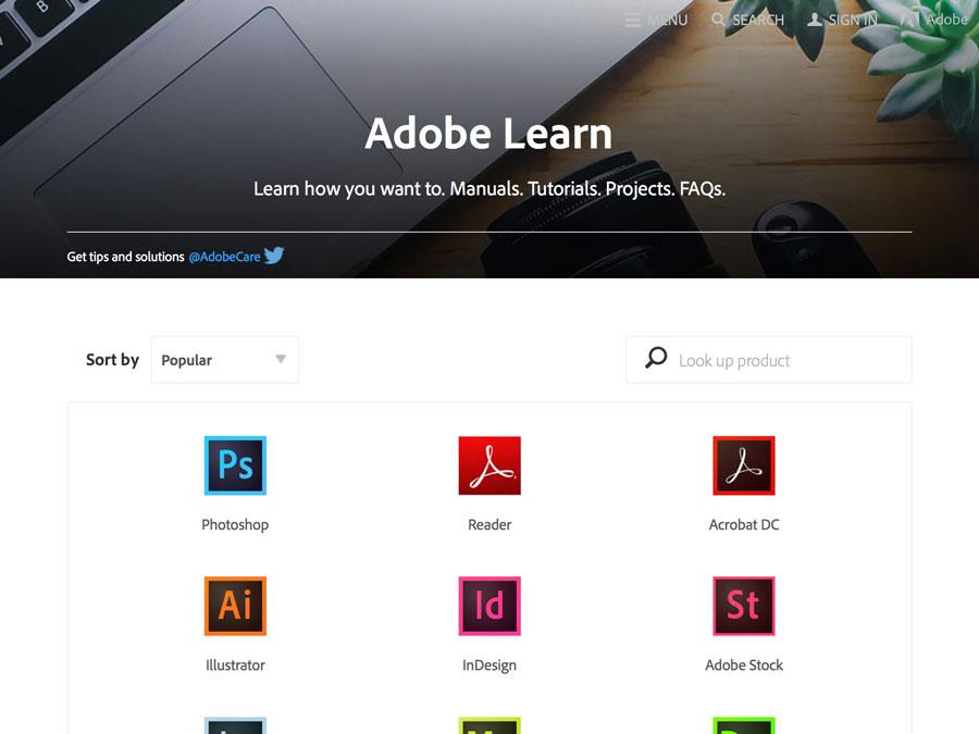 Adobe Learn