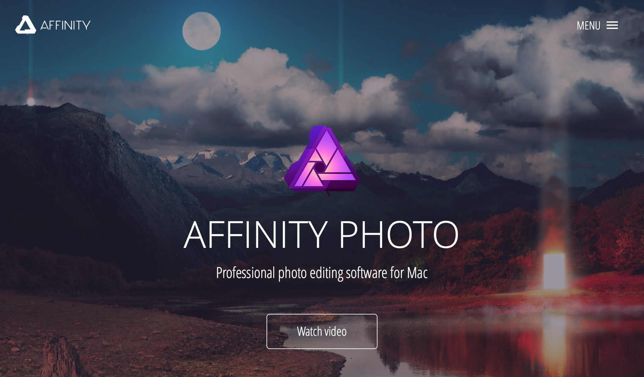 Affinity Photo - the fastest, smoothest, most precise professional image editing software, exclusively for Mac.