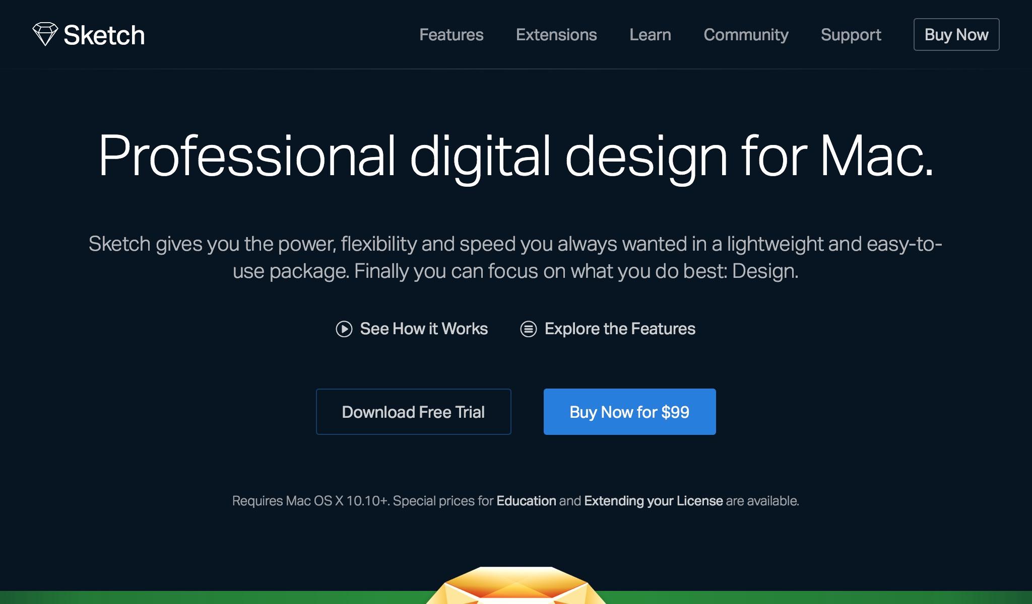 Sketch - Professional Digital Design for Mac