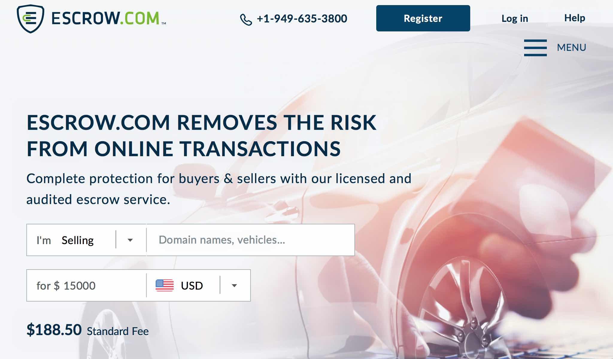 Escrow - Safe & Secure Online Transactions - Escrow.com