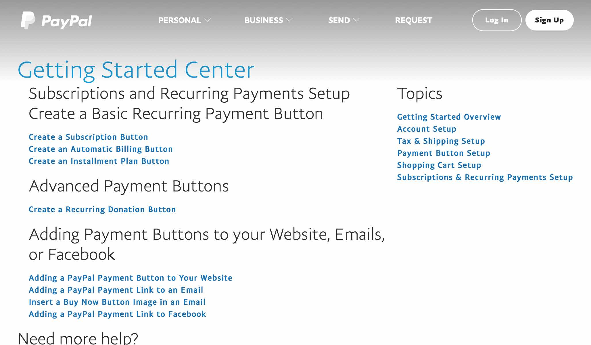 Set Up Subscription and Recurring Payment Buttons through PayPal