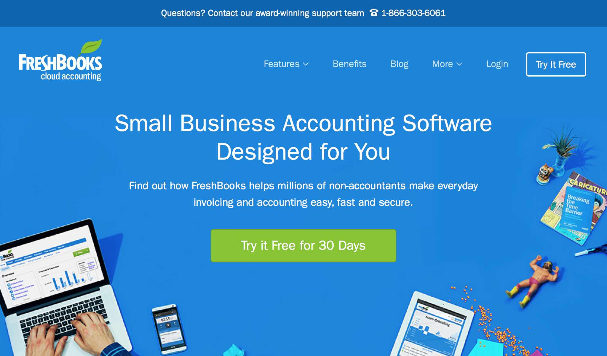 Small Business Accounting Software in the Cloud | FreshBooks