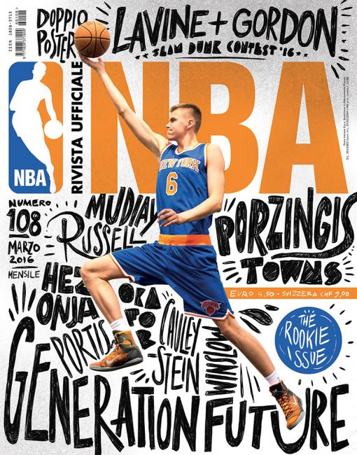 NBA Magazine in Italy by Francesco Poroli