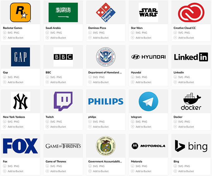 Instantly Download Thousands Of Logos With This Awesome