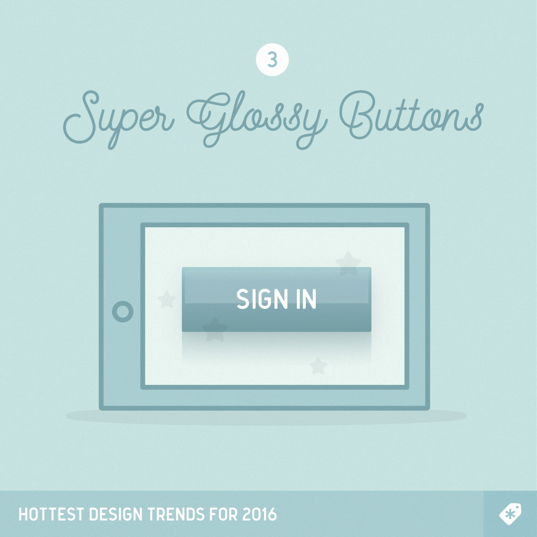 April-Fools_10-Design-Trends_3-Glossy-Buttons