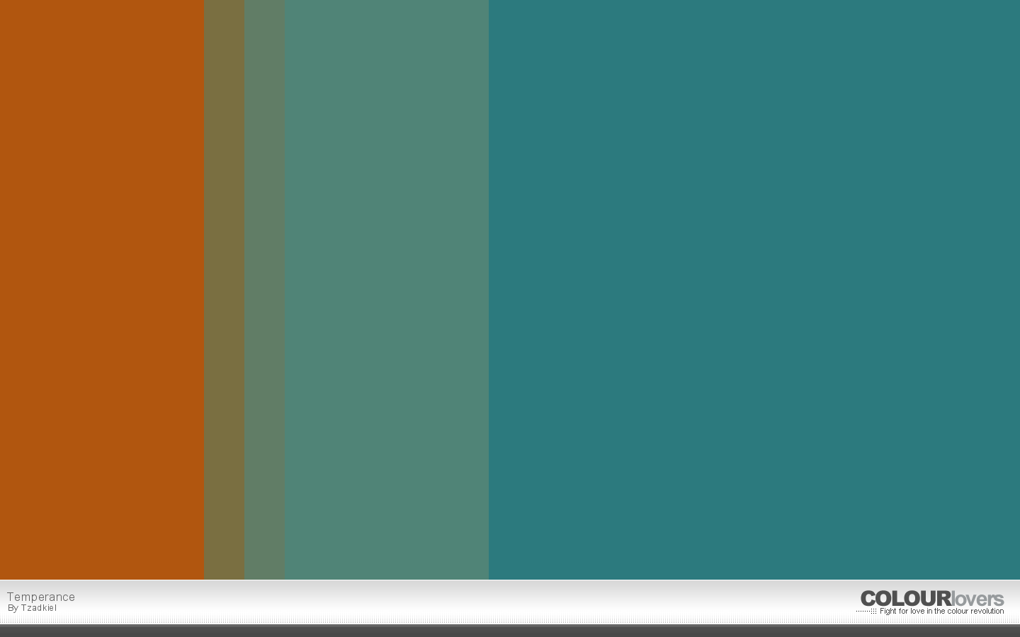 17. temperance - metallic color palettes to try