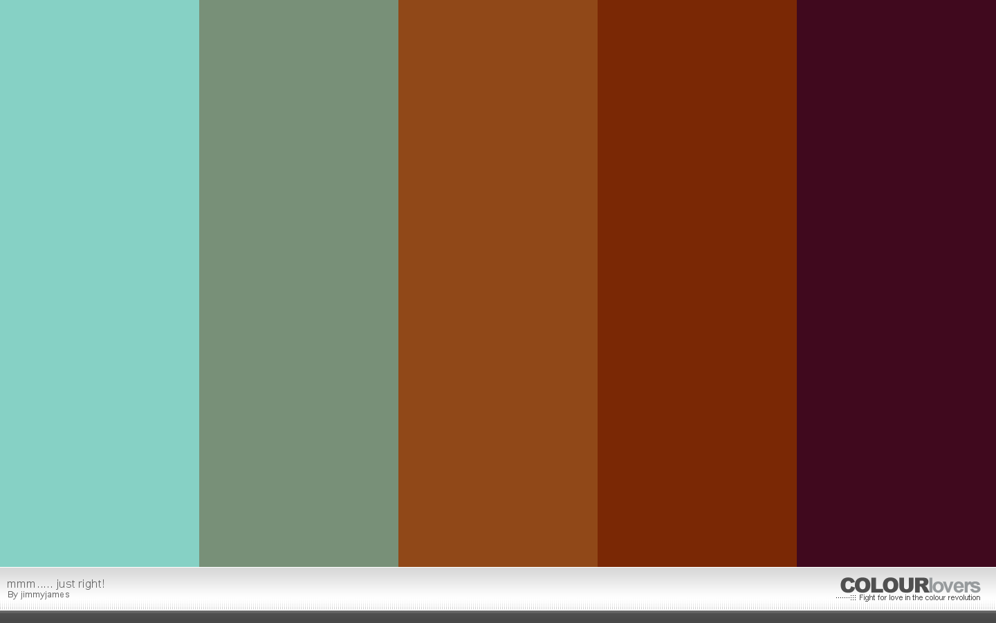 20. mmm..... just right! - metallic color palettes to try
