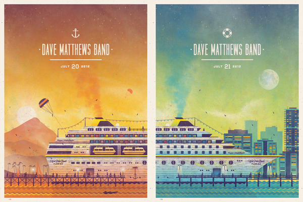 Dave Matthews Band Posters by DKNG