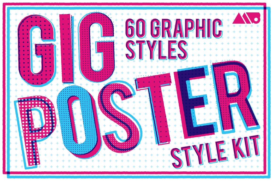 Gig Poster Style Kit