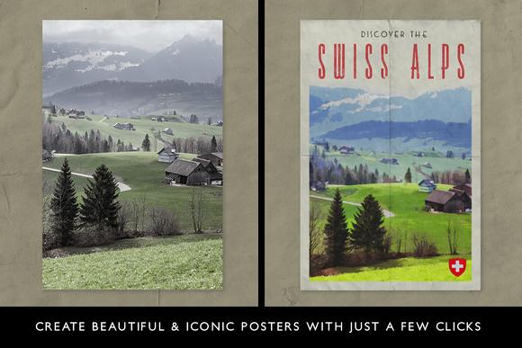 PosterPress for Photoshop