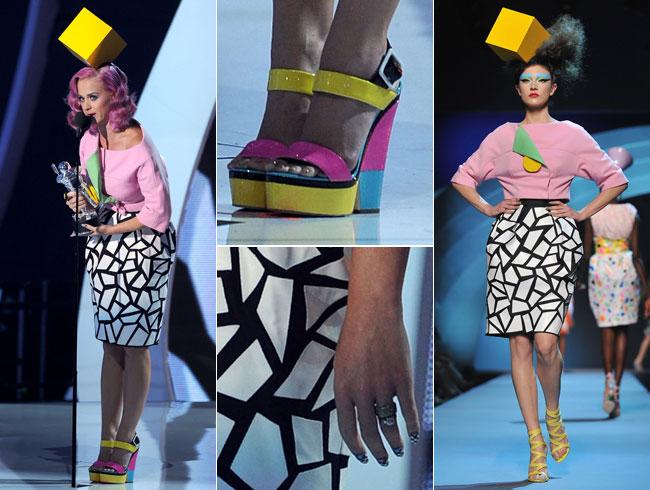 Estilo Memphis en la moda -