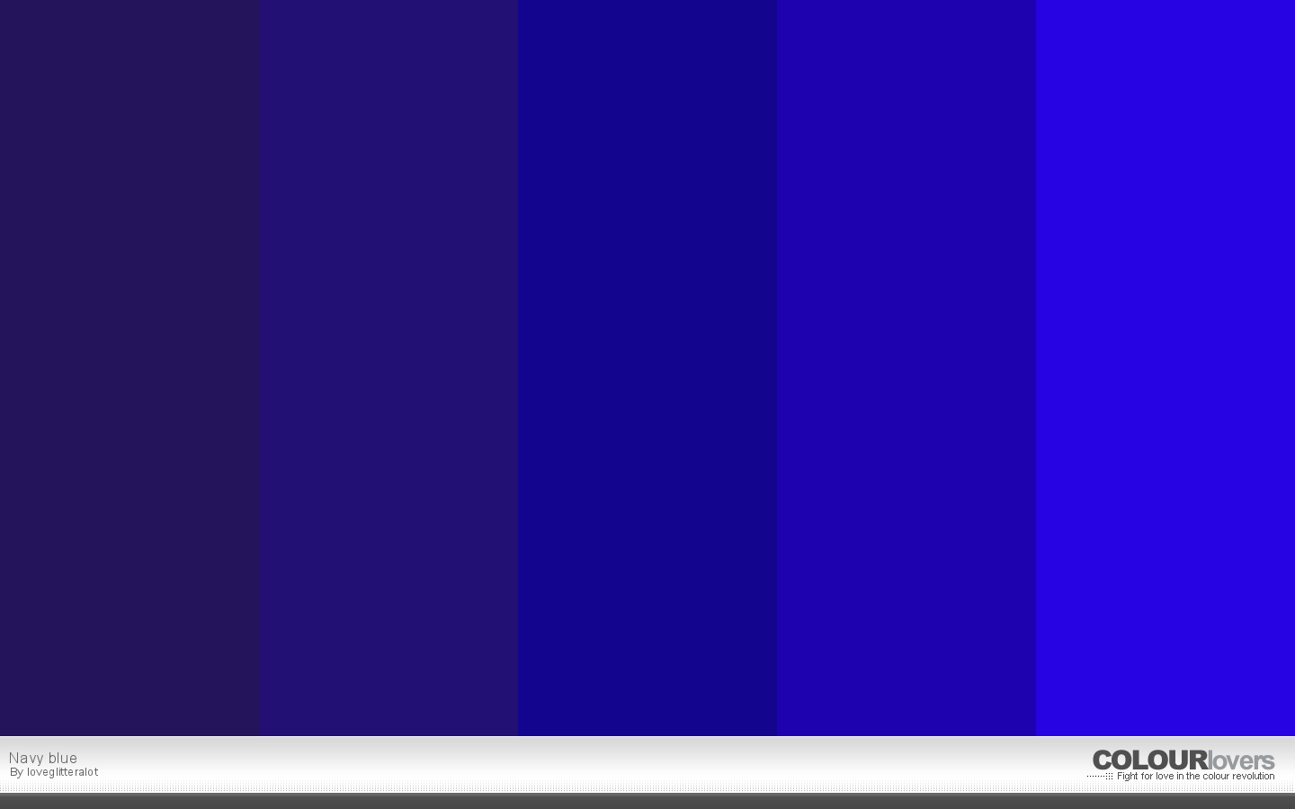 20 Klein Blue Color Palettes to Try This Month: May 2016 ...