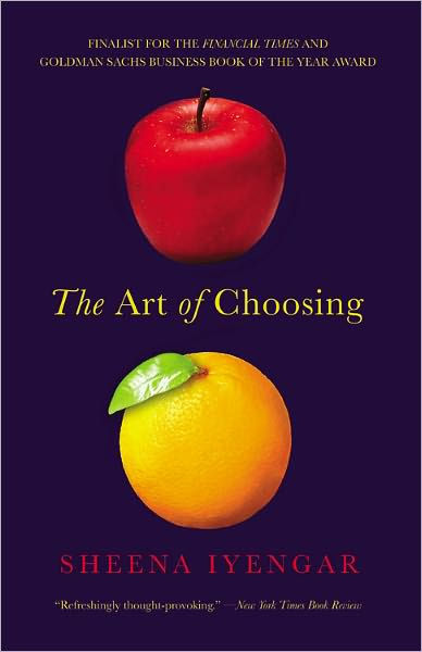 The Art of Choosing Paperback