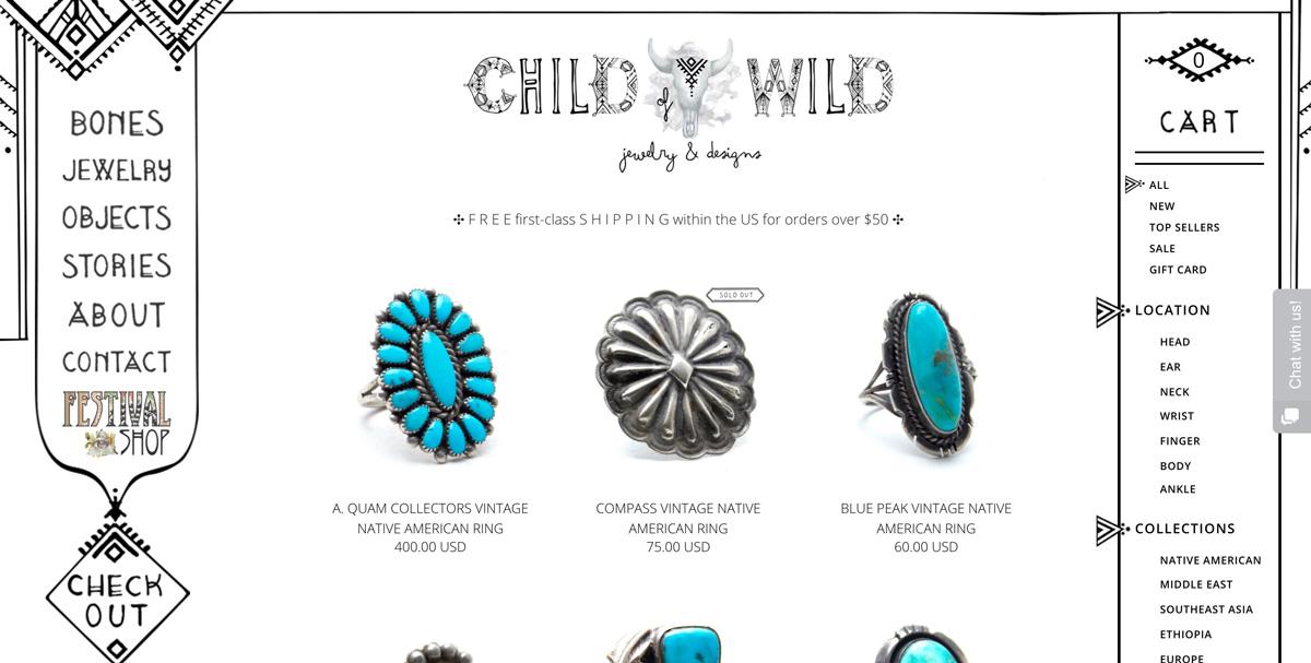 Best-Hand-Drawn-Websites-Child-of-Wild
