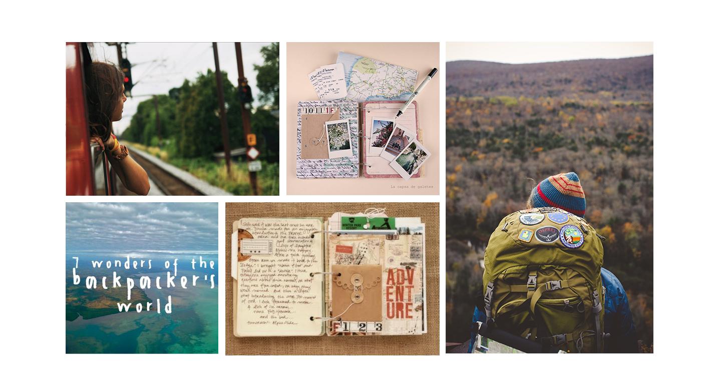 Interrail and Eurail Visual Identity Moodboard by Cristina Buonanno
