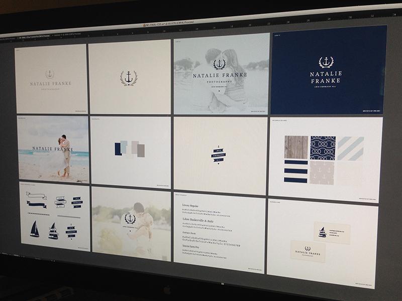 Natalie Franke Brand Boards by Ashley Jankowski