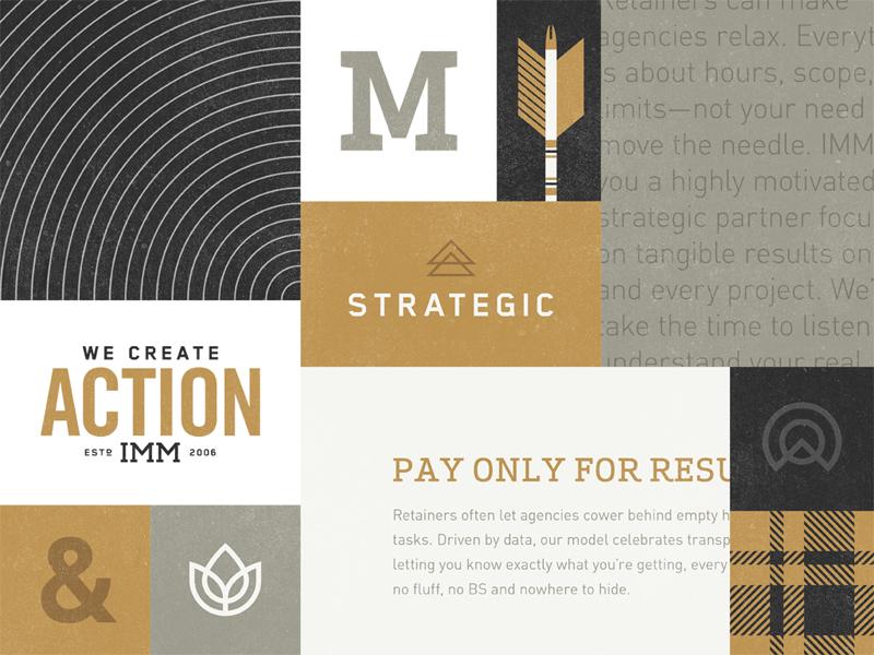 Rebrand elements exploration by Kyle Taylor