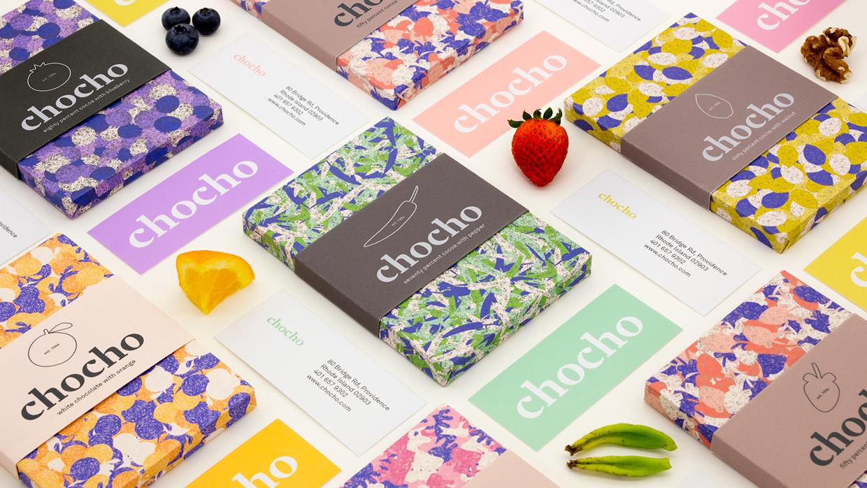 Branding & Packaging Design for Chocho by Hee Jae Kim