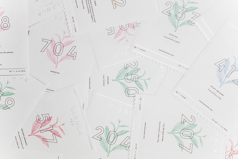 Branding & Packaging for Blanca Tea by Dmowski & Co.