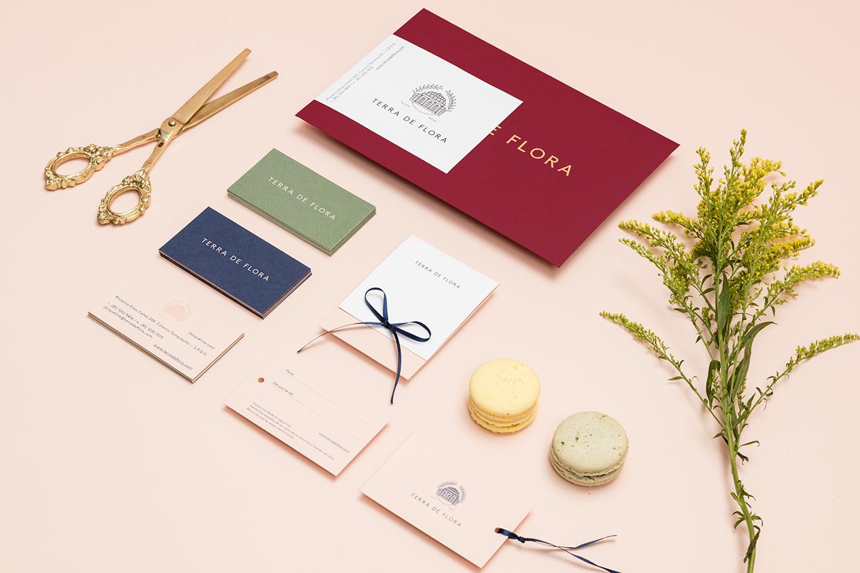 Branding & Packaging for Terra de Flora by Parámetro Studio