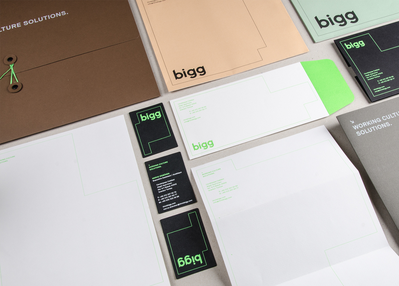 Branding for Bigg by Ozan Akkoyoun