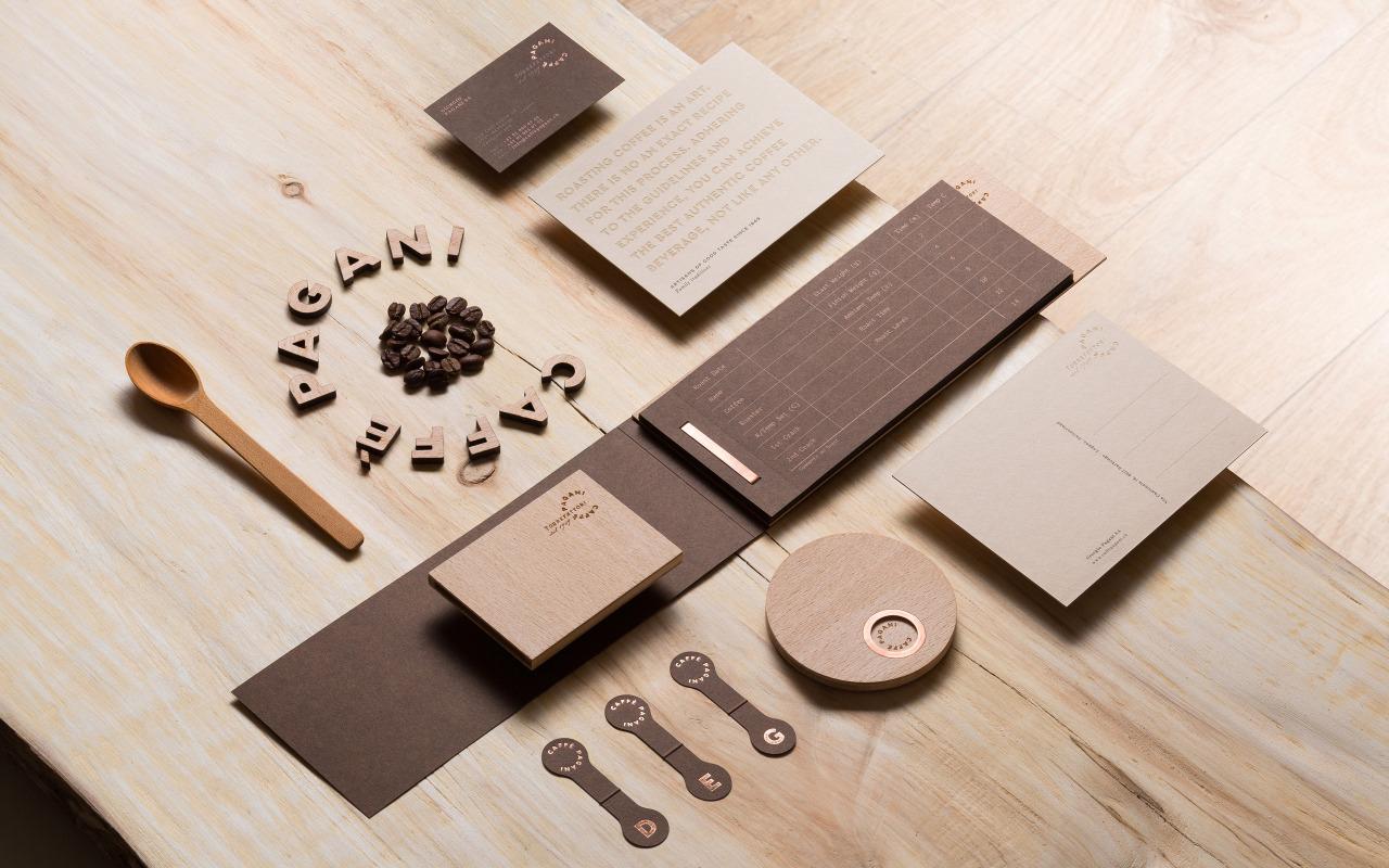 Branding for Caffè Pagani by Eskimo Studio
