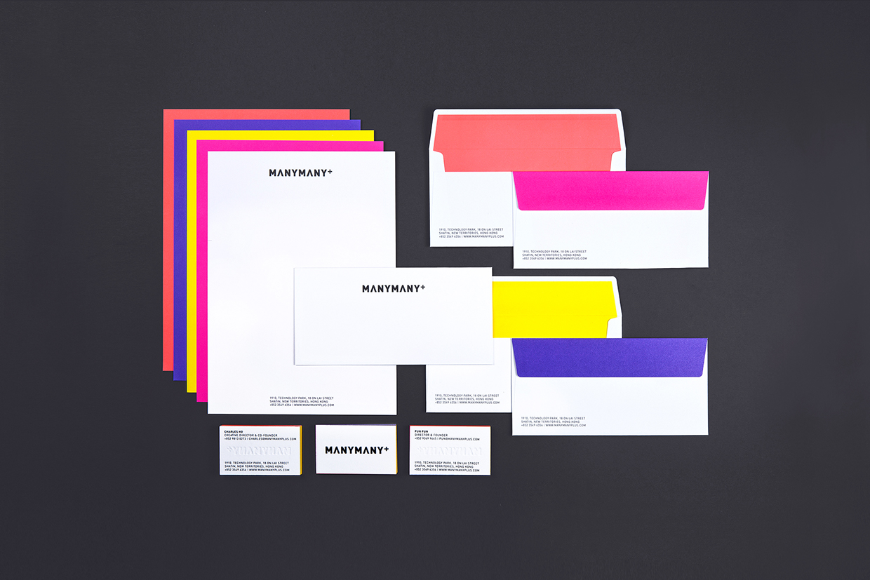 Branding for MANYMANY+ by Toby Ng