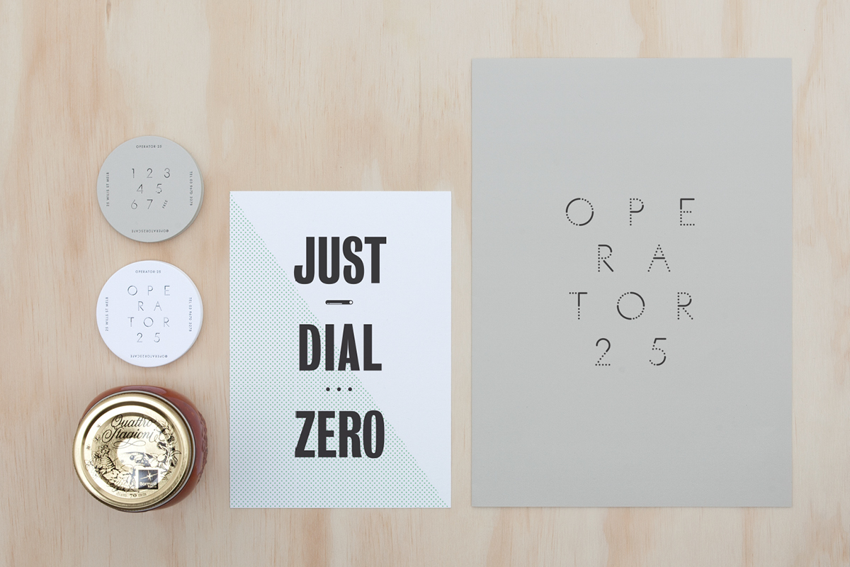 Branding for Operator 25 Cafe by Pop & Pac