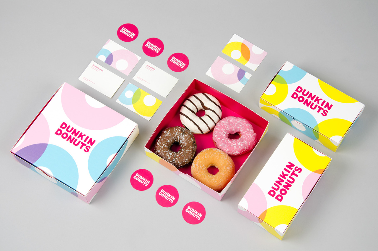 Dunkin Donuts Branding Update by Hanna Sköld & Sara Knipström