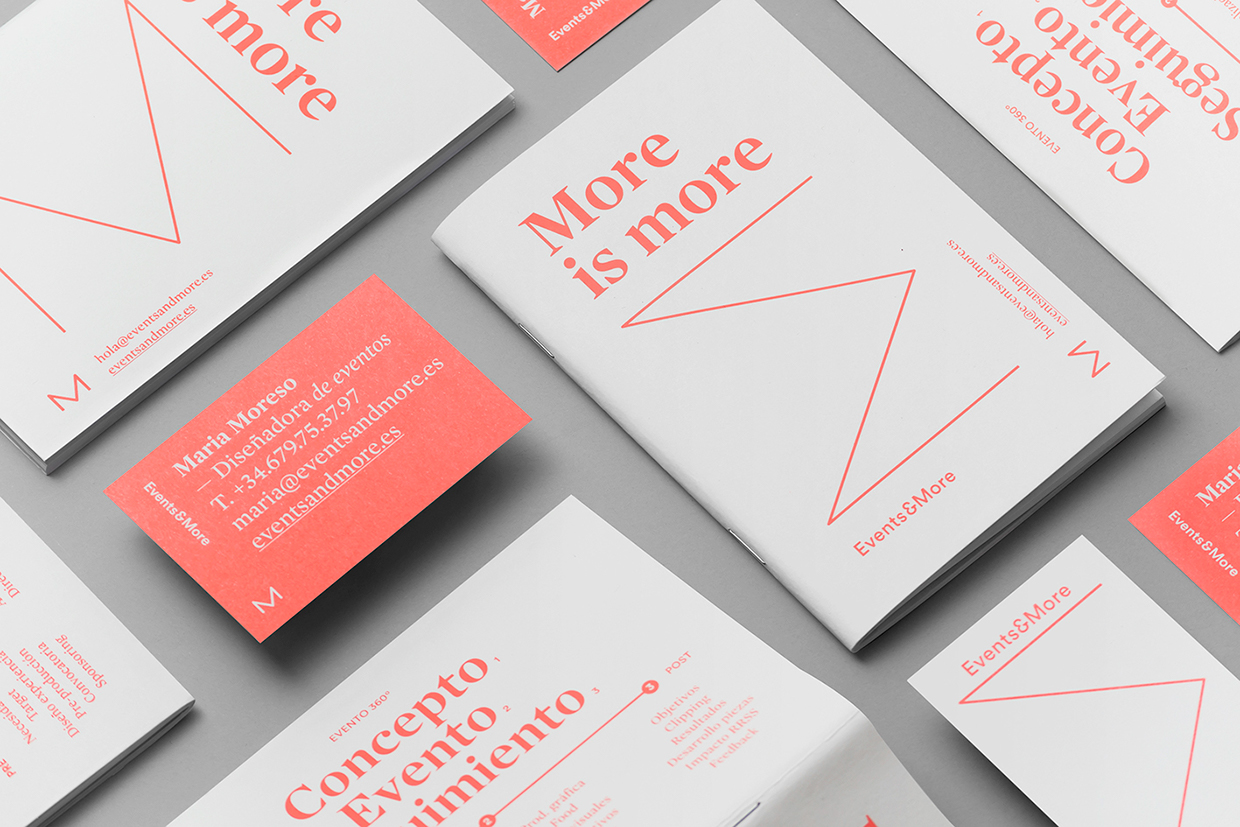 Events & More Branding by Andrés Requena