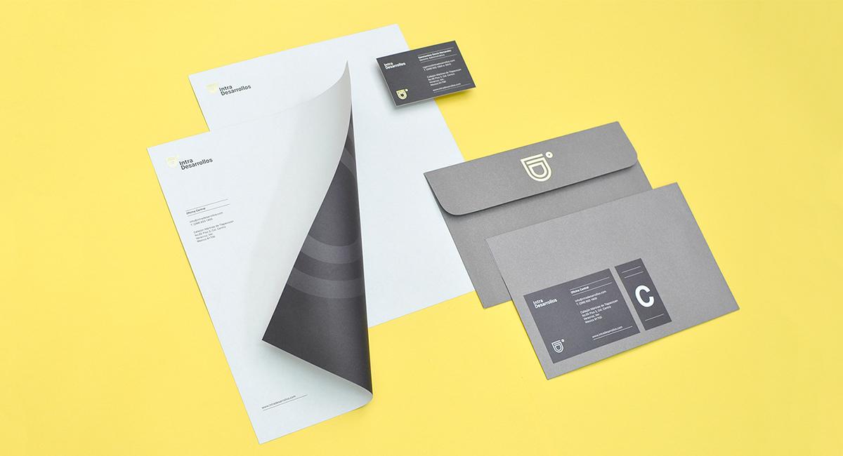 Intra Desarrollos Branding by Firmalt