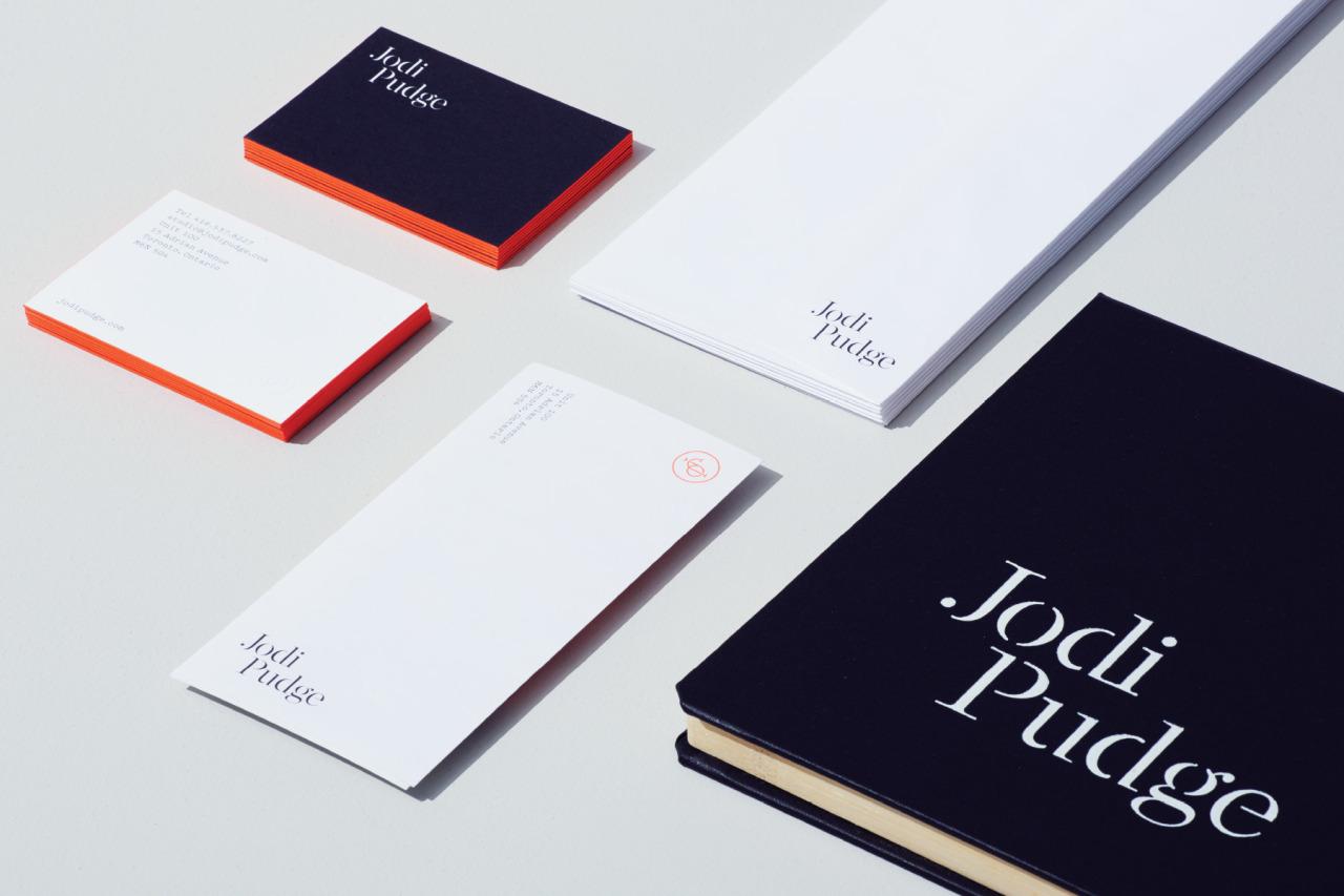 Jodi Pudge Identity by Underline Studio