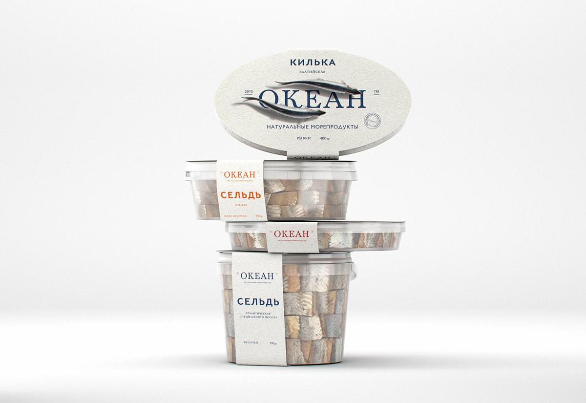 Ocean Packaging & Branding by Egor Preobrazhensky