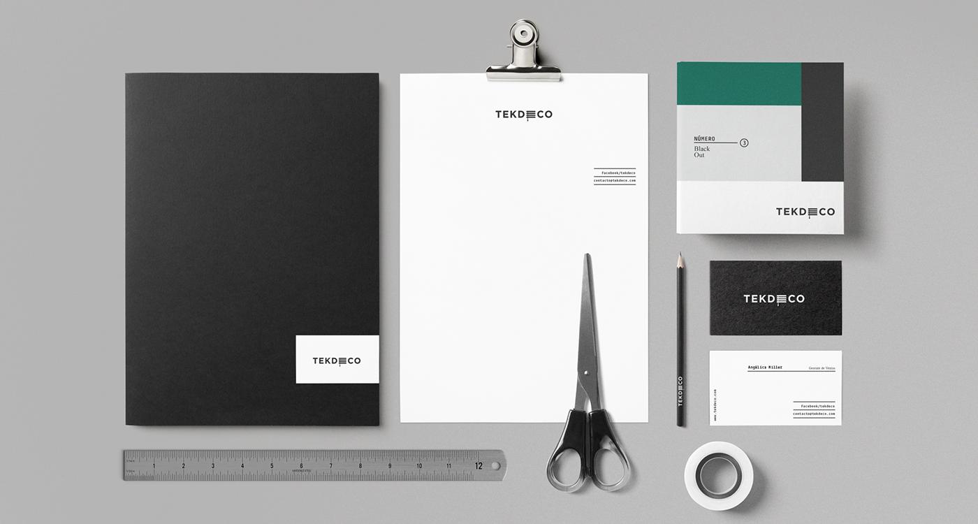TEKDECO Branding by Treceveinte